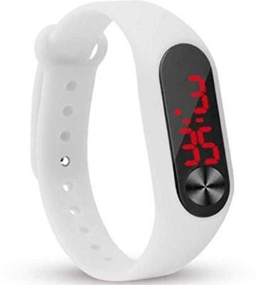 oleander Rubber Magnet LED Digital Watch Digital Watch   For Men   Women oleander Wrist Watches