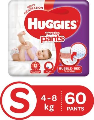 Huggies Wonder Pants S Diapers (60 Pieces)
