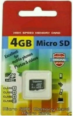 King Elite 4 GB SD Card Class 10 48 MB/s Memory Card
