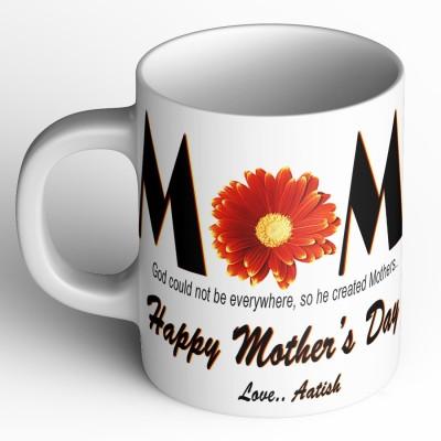 Abaronee Aatish Happy mothers day quote m016 Ceramic Mug(350 ml)