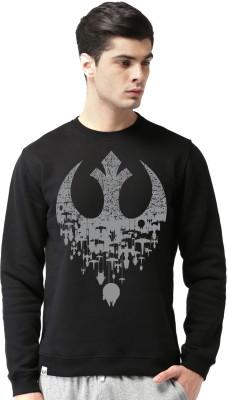 Bluehaaat Full Sleeve Graphic Print Men Sweatshirt