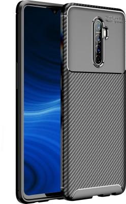 Golden Sand Back Cover for Realme X2 Pro(Black, Shock Proof)