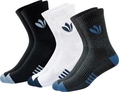 Fresh Feet Men Solid Calf Length(Pack of 3)