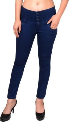 Micky Girls Slim Women Blue Jeans