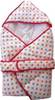 MASTER ROYAL BACKNCOOK TOOLS Born Baby Premium Soft Cotton Fabric Baby Hooded Wrapper Blanket Bunting Bag(Multicolor)