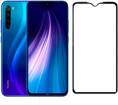 CEDO XPRO Tempered Glass Guard for Full Glue Coverage Screen Protector Xiaomi Redmi Note 8 (Black)(Pack of 1)