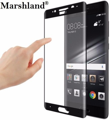 Marshland Tempered Glass Guard for Huawei Mate 9 Pro, Screen Protector Premium Quality Anti Scratch Bubble Free 3D Edge to Edge Tempered Glass, Black(Pack of 1)
