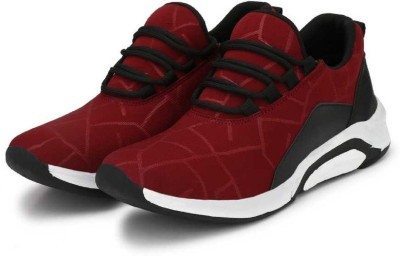 CENATAAS C104 Running Shoes For Men Maroon CENATAAS Sports Shoes