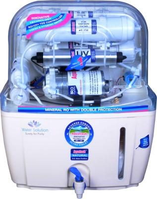 Aqua Fresh white ro+uv+uf+tds+mineral 15 L 15 L RO + UV + UF + TDS Water Purifier(White, Blue)