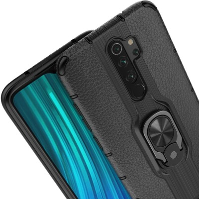 Casewilla Back Cover for Honor 20i, Plain Covers(Black, Grip Case)
