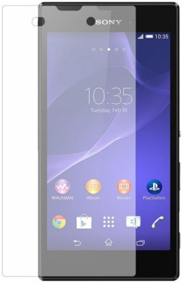 MudShi Tempered Glass Guard for Sony Xperia C3(Pack of 1)