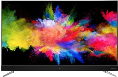 TCL 138.7 cm (55 inch) Ultra HD (4K) LED Smart Android TV(L55C2US)