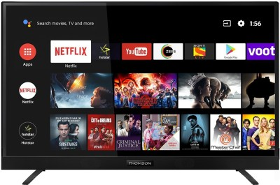 Thomson 108cm (43 inch) Ultra HD (4K) LED Smart Android TV  with In-built soundbar & Netflix(43 OATH 1000)
