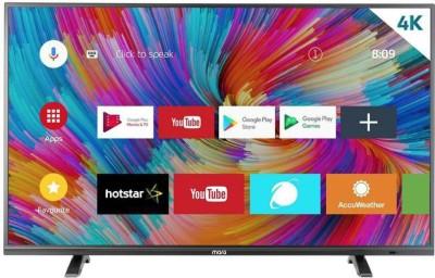 MarQ by Flipkart 140 cm (55) Ultra HD (4K) LED Smart Android TV(55SAUHD)