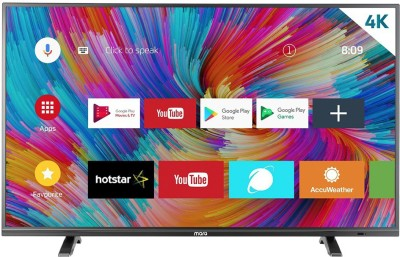 MarQ by Flipkart 109 cm (43) Ultra HD (4K) LED Smart Android TV(43SAUHD)