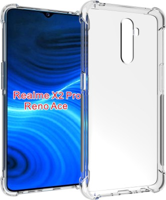 Flipkart SmartBuy Back Cover for Realme X2 Pro(Transparent, Grip Case)