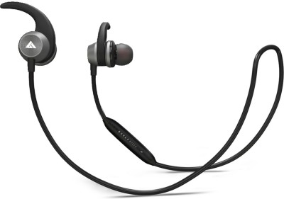 Boult Audio ProBass Space Bluetooth Headset with Mic(Black, Grey, In the Ear)