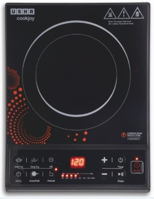 Usha IC 3616 Induction Cooktop(Black, Push Button)