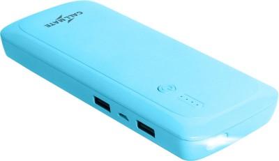 Callmate 15000 mAh Power Bank Blue, Lithium ion