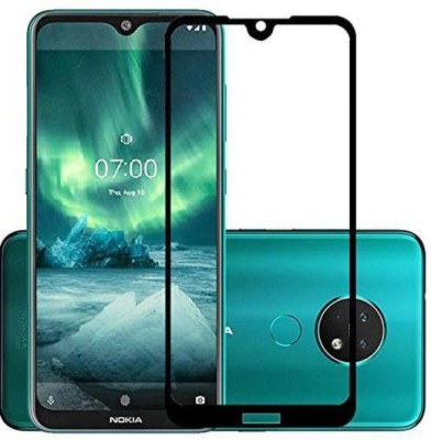 Desirtech Edge To Edge Tempered Glass for Mi Redmi note 8 pro(Pack of 1)