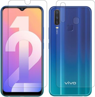 Yoox Front and Back Screen Guard for Vivo Y12(Pack of 2)