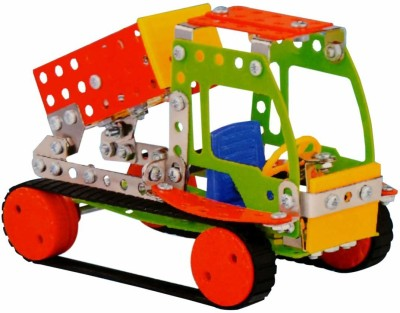Planet of Toys Metal Blocks   2 in 1 Model  233 Pcs  Multicolor Planet of Toys Blocks   Building Sets