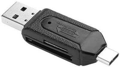 Cellhub Smart funtional OTG Micro SD+TF Card Reader Black