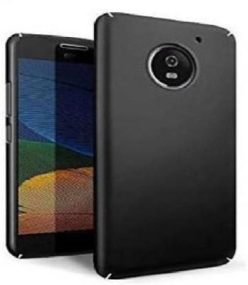 CELLSHEPHARD Back Cover for Motorola Moto G5 Plus(Black, Hard Case)