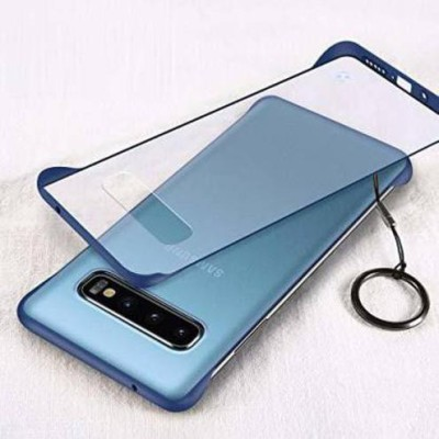 VeilSide Back Cover for Samsung Galaxy Note 8(Blue, Transparent, Grip Case)
