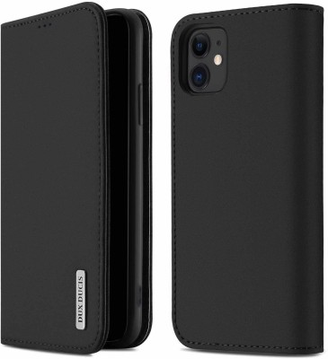 DHAN GTB Flip Cover for Apple Iphone 11 II Apple iphone 11(6.1 inch)(Black, Grip Case)