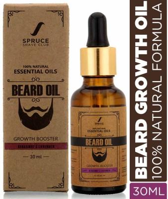 Spruce Shave Club Beard Growth Oil For Men | 100% Natural Hair Oil(30 ml)