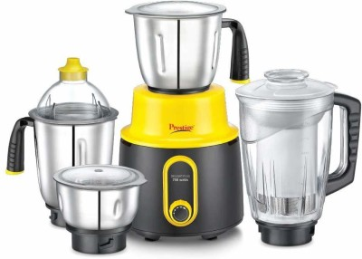 Prestige Mixer Grinder Delight Plus 750 Juicer Mixer Grinder(Multicolor, 4 Jars)