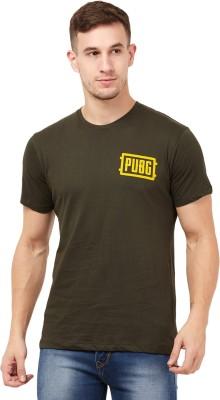 Hulk By Free Authority Printed Men Round Neck Green T-Shirt