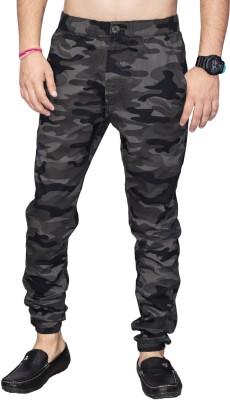 SAPPER Camouflage Men Grey Track Pants