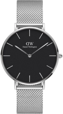 Daniel Wellington Unisex Black Analogue Watch