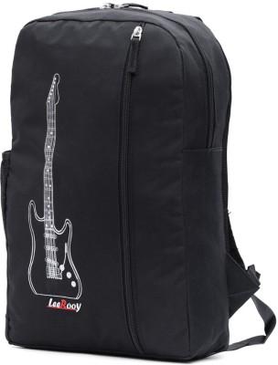 LeeRooy SCHOOL BAG Waterproof Backpack Black, Black, 28 L