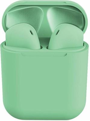 CHG Blutooth Headseth Mic Bluetooth Headset with Mic DS1 Bluetooth Headset(Green, True Wireless)