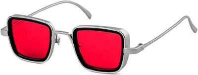 FERRET Rectangular Sunglasses(Red)