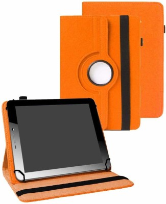 TGK Book Cover for Micromax Funbook Mini P365 Tablet (7 Inch)(Orange, Cases with Holder)