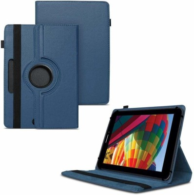 TGK Flip Cover for iBall Slide Performance Series 3G 7271-HD70 Tablet 8GB, WiFi, 3G, Voice Calling/ Rotating Case(Blue, Cases with Holder)