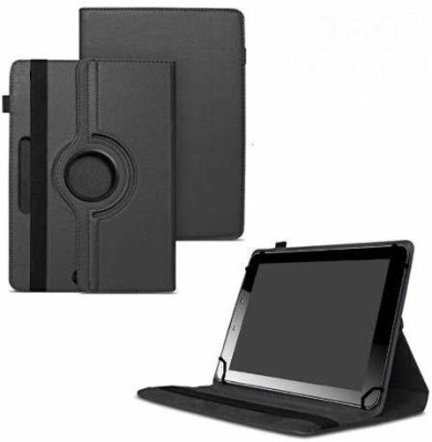 TGK Flip Cover for Micromax Funbook Mini P365 Tablet 7 Inch / Rotating Leather Case(Black, Cases with Holder)