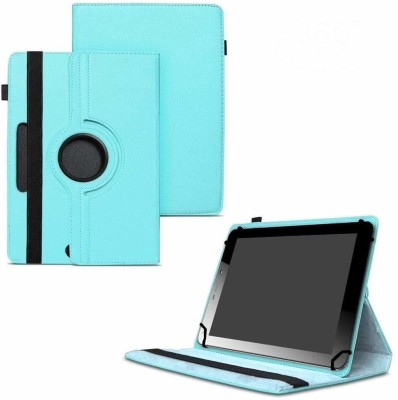 TGK Flip Cover for Micromax Funbook Mini P365 Tablet 7 Inch / Rotating Leather Case(Blue, Cases with Holder)