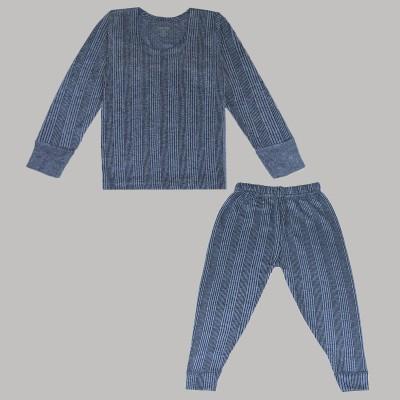 Shishu Top - Pyjama Set For Boys & Girls(Light Blue, Pack of 1)