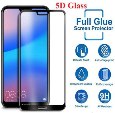 MOHAZ Edge To Edge Tempered Glass for Honor 9N(Pack of 1)