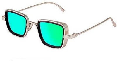 FERRET Rectangular Sunglasses(Green)