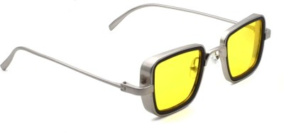 FERRET Rectangular Sunglasses(Yellow)