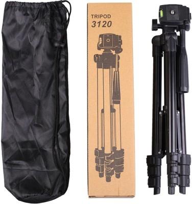 LIFEMUSIC Best Quality Professional Portable Legs Aluminium Flexible Tripod Stand for Canon Nikon Sony Pantex Camera Camcorder DV DSLR Tripod(Black, Supports Up to 1500 g)