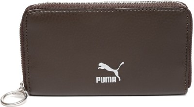 PUMA Men Casual Brown Artificial Leather Wallet 6 Card Slots PUMA Wallets