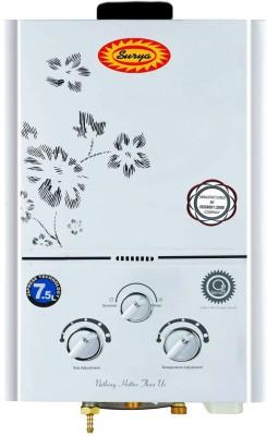 Surya 7 L Gas Water Geyser (JSD-12-20-04-7.5L, White)