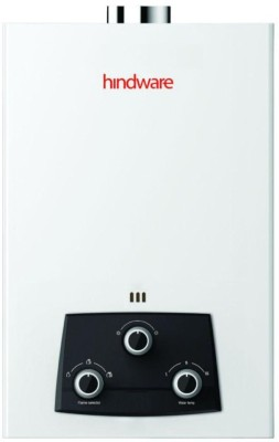 Hindware 6 L Gas Water Geyser (Eveto ISI Certified, White)